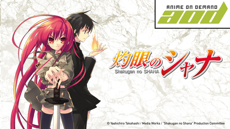 Shakugan no Shana auf Anime on Demand